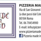 PIZZERIA MADE IN SUD