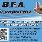 B.F.A. SERRAMENTI