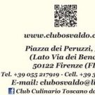 CLUB CULINARIO TOSCANO DA OSVALDO - RISTORANTINO