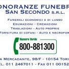 ONORANZE FUNEBRI SAN SECONDO signor Giordano