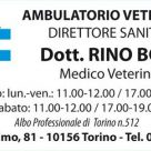 AMBULATORIO VETERINARIO Dott. Rino Borio