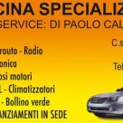OFFICINA SPECIALIZZATA AUTOSERVICE: DI PAOLO CALLIPARI