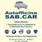 AUTOFFICINA SAB.CAR