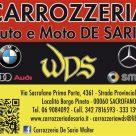 CARROZZERIA AUTO E MOTO DE SARIO WDS