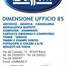 BUFFETTI DIMENSIONE UFFICIO 85