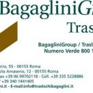 BAGAGLINI GROUP TRASLOCHI