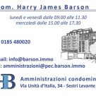 GEOM. HARRY JAMES BARSON