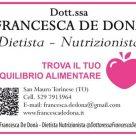 DOTT.SSA FRANCESCA DE DONÀ