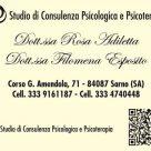 STUDIO DI CONSULENZA PSICOLOGICA E PSICOTERAPIA