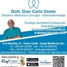 DOTT: GIAN CARLO ONETO