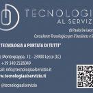 TECNOLOGIA AL SERVIZIO