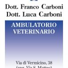 DOTT. FRANCO CARBONI - DOTT. LUCA CARBONI