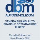 DBM AUTODEMOLIZIONI
