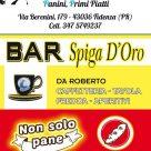 BAR SPIGA D'ORO - NON SOLO PANE