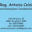RAG. ANTONIO CELSI
