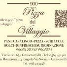 900 PIZZA DEL VILLAGGIO
