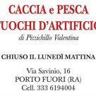 CACCIA E PESCA - FUOCHI D'ARTIFICIO