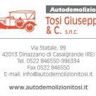 AUTODEMOLIZIONI TOSI GIUSEPPE & C.