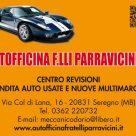 AUTOFFICINA F.LLI PARRAVICINI