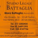 STUDIO LEGALE BATTAGLIA