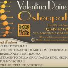 VALENTINA DAINESE OSTEOPATA