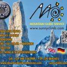 MOUNTAIN GUIDE SERVICE - SUNNY CLIMB