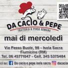 DA CACIO & PEPE