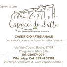 CAPRICCI DI LATTE