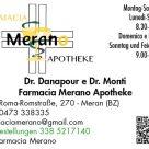FARMACIA MERANO APOTHEKE