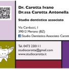 DR. CAROTTA IVANO - DR.SSA CAROTTA ANTONELLA