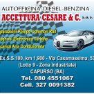 AUTOFFICINA DIESEL-BENZINA DI ACCETTURA CESARE & C.