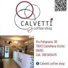 CALVETTI COFFEE SHOP