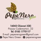 PEPE NERO GREEN