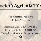 SOCIETÀ AGRICOLA TZ