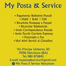MY POSTA & SERVICE