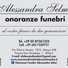 ALESSANDRA SELMI ONORANZE FUNEBRI