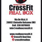 CROSSFIT REAL BOX