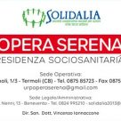 SOLIDALIA - OPERA SERENA