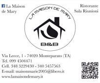 LA MAISON DE MARY B&B