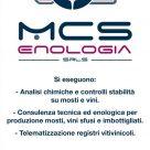 MCS ENOLOGIA