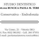 DOTT.SSA RUSCICA PAOLA M. TERESA