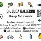DR. LUCA BALLERINI BIOLOGO NUTRIZIONISTA