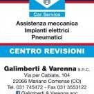 BOSCH SERVICE - GALIMBERTI & VARENNA