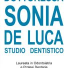 DOTTORESSA SONIA DE LUCA