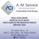 A.M. SERVICE