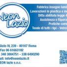 NEON LAZIO