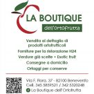 LA BOUTIQUE DELL'ORTOFRUTTA