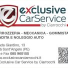 EXCLUSIVE CARSERVICE BY CIARROCCHI