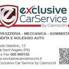EXCLUSIVE CARSERVICE BY CIARROCCHI