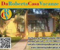 DA ROBERTA CASA VACANZA